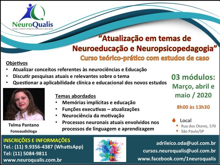 Atualização em Neuroeducação