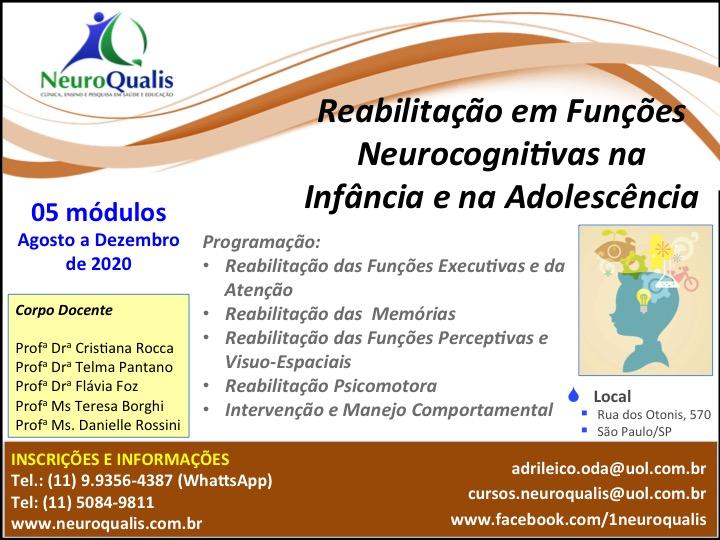 Função neurocognitiva infância e adolescência