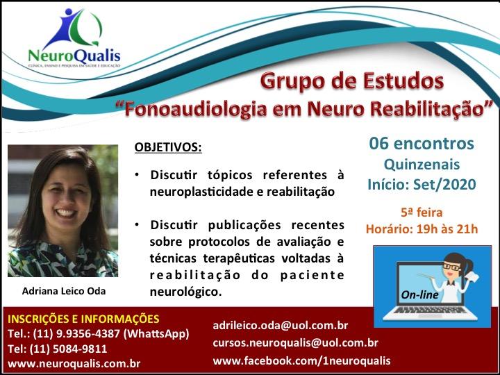 Divulgação Grupo de Estudos set2020